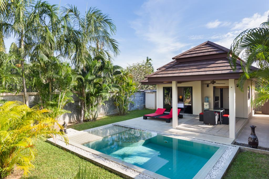 Enjoy a huge amount of freedom and privacy in private pool residences in Phuket