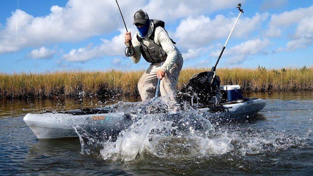 Kayak Fly Fishing for Bass